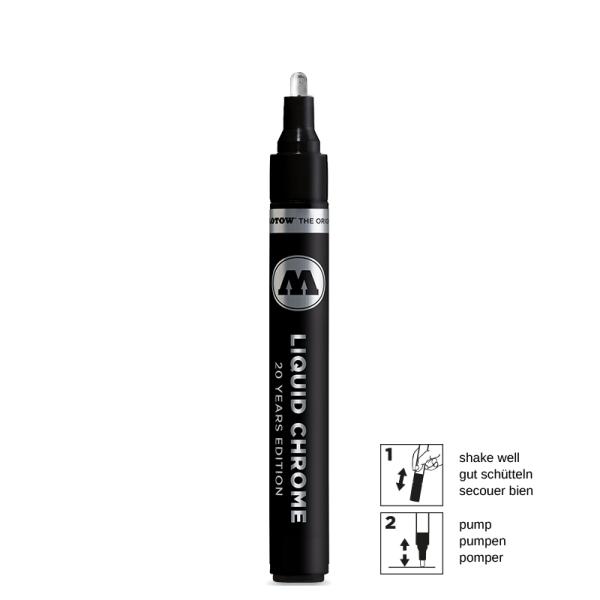 Liquid Chrome Marker 4mm