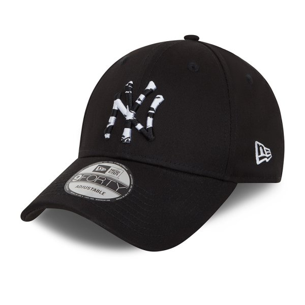 Infill 9Forty NYY | black snow